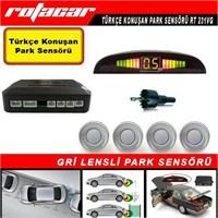 Rotacar Gri Park Sensörü Türkçe Konuşan Uyarı Ekranlı Rt231vg