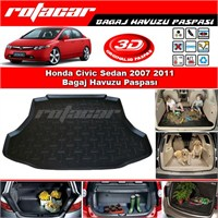 Honda Civic Sedan 2007 2011 Bagaj Havuzu Paspası BG075