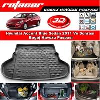 Hyundai Accent Blue Sedan 2011 Ve Sonrası Bagaj Havuzu Paspası BG083