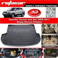 Hyundai Tucson 4x4 Suv 2005 2011 Bagaj Havuzu Paspası BG090