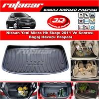 Nissan Yeni Micra Hb 5kapı 2011 Ve Sonrası Bagaj Havuzu Paspası BG0117