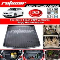 Seat Exeo Sedan 2009 Ve Sonrası Bagaj Havuzu Paspası BG0161