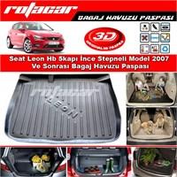 Seat Leon İnce Stepneli Model 2006-2012 Bagaj Havuzu Paspası