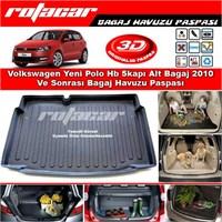 Volkswagen Yeni Polo Hb 5kapı Alt Bagaj 2010 Ve Sonrası Bagaj Havuzu Paspası BG0197