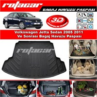Volkswagen Jetta Bagaj Havuzu Paspası 2005 2011 ve Arası Modeller