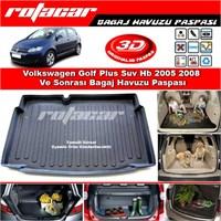 Volkswagen Golf Plus Suv Hb 2005 2008 Bagaj Havuzu Paspası BG0205