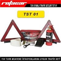 Rotacar Trafik Seti Yangın Söndürücülü Tuv Uyumlu Tst01