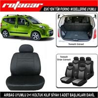 Fiat Fiorino Koltuk Kılıfı Siyah Kket016
