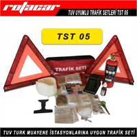Rotacar Trafik Seti Tüplü Tuv Uyumlu Mega Tst05