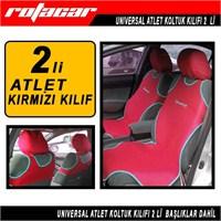 Rotacar Atlet Kılıf Racing Baskılı 2 li Kırmızı Rtak03