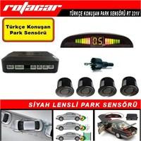 Rotacar Siyah Park Sensörü Türkçe Konuşan Uyarı Ekranlı Rt231v