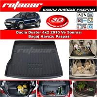 Dacia Duster 4x2 2010 Ve Sonrası Bagaj Havuzu Paspası BG036