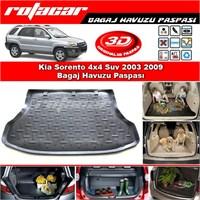 Kia Sorento 4x4 Suv 2003 2009 Bagaj Havuzu Paspası BG0105