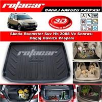 Skoda Roomster Suv Hb 2008 Ve Sonrası Bagaj Havuzu Paspası BG0163