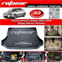 Toyota Avensis Sedan 2003 2008 Bagaj Havuzu Paspası BG0183