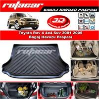 Toyota Rav 4 4x4 Suv 2001 2005 Bagaj Havuzu Paspası BG0182
