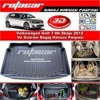 Volkswagen Golf 7 Hb 5 Kapı 2012 Ve Sonrası Bagaj Havuzu Paspası BG0189