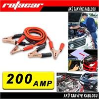 Akü Takviye Kablosu 200 Amp Atk0200