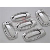 S-Dizayn Peugeot Bipper Kapı Kolu 5 Kapı 10 Prç. P.Çelik (Set) (2008>)