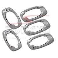 S-Dizayn Peugeot Bipper Kapı Kolu Çerçevesi 5 Kapı P.Çelik (2008>)