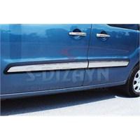 S-Dizayn Peugeot Partner Tepee Yan Kapı Çıtası 4 Prç. P.Çelik (2008>)