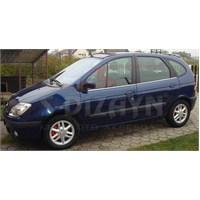 S-Dizayn Renault Scenic Cam Çıtası 4 Prç. P.Çelik (2001-2005)