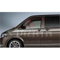 S-Dizayn Vw T5 Caravelle Cam Çıtası 2 Prç. P.Çelik (2010>)