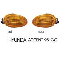 Hyundai Accent 95-00 Orijinal Sarı Sis Lambası Set Ampüllü 840070