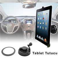 Actto Araç İçi Vantuzlu Tablet Tutucu iPad-Galaxy Tab-PDA Uyumlu