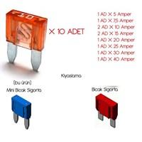 Modacar Mini Bıçak Sigorta Seti 10 Lu Paket 840893