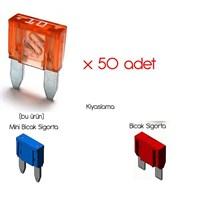 ModaCar Mini Bıçak Sigorta 50 li Paket 841404