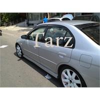 TARZ Honda Civic Mugen Cam Rüzgarlığı 2001/2006 Ön/Arka Set