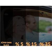 AutoFolyo Çizilmez Cam Filmi 100 Cm X 6 Metre %5 Süper Black