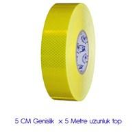 Modacar PETEKLİ SARI Fosfor 5 Cm X 5 Metre 540067