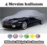 AutoCet Miflonlu,Dikişsiz Araç Brandası (Boyut: 4.52 x 1.76 x 1.45 m) 3055a