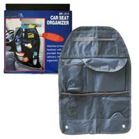 Autocet Katlanabilir Oto Koltuk Arkası Organizer Çanta (GRİ)-3152a
