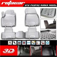Peugeot Bipper 4 Parça 3D Kauçuk Oto Paspas 2008 Sonrası 38285