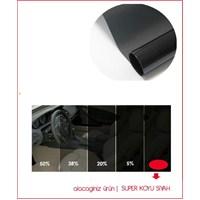 Carub Çizilmez SUPER BLACK Cam Filmi 6 Mt x 50 cm