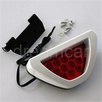 Dreamcar Beyaz F1 Style Kırmızı Flash Patlayan Stop Lamba 12 Led 3563203