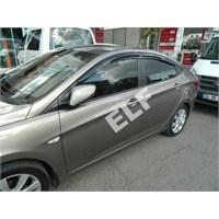 Elf Hyundai Accent Blue Mugen Cam Rüzgarlığı