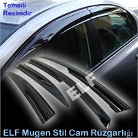 Elf Skoda Octavia A5 Mugen Cam Rüzgarlığı 04/12