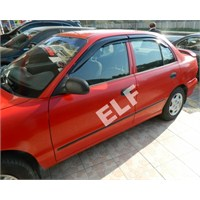 Elf Hyundai Accent Mugen Cam Rüzgarlığı 96/00