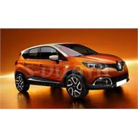 S-Dizayn Renault Captur 2013 Üzeri Krom Cam Çıtası 4 Prç. P.Çelik
