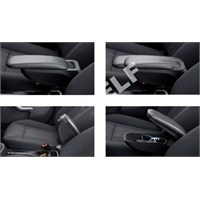Z Tech Renault Clio 4 Kolçak - Araca Özel Siyah 2013 sonrası