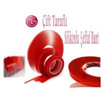 LG Kırmızı Çift Taraflı Bant ( 1,5cm x 5mt )