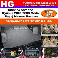 Bmw X5 2000 2006 Gri Bagaj Havuzu Paspası 38636