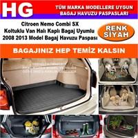 Nemo Combi Sx Halı Bagaj 2008 2013 Siyah Bagaj Havuzu Paspası 38691