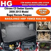 Citroen C5 2008 2013 Gri Bagaj Havuzu Paspası 38700