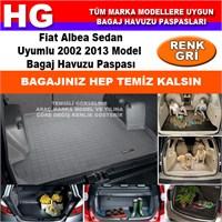 Fiat Albea 2002 2013 Gri Bagaj Havuzu Paspası 38737