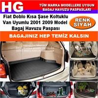 Fiat Doblo 2001 2009 Siyah Bagaj Havuzu Paspası 38743